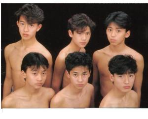 SMAP, the early years. Fonte: orahen.livejournal.com
