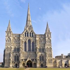 Catedral de Salisbury. Fonte: www.pbase.com