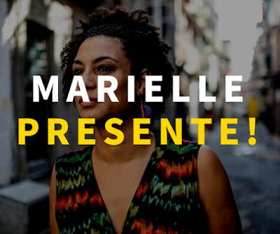 Marielle, presente.